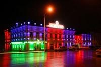 Наружное освещение: архитектурное освещение зданий и фасадов в г.Биробиджан