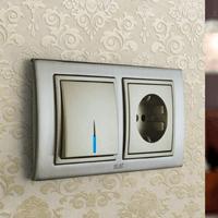 Установка выключателей в Биробиджане. Монтаж, ремонт, замена выключателей, розеток Биробиджан.